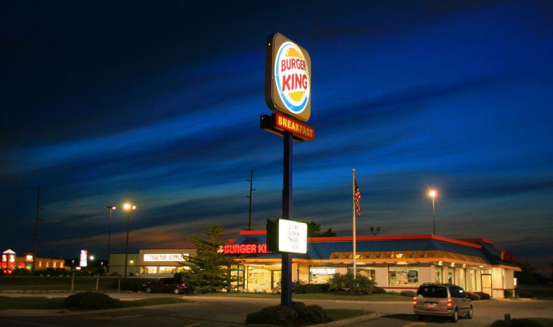 Arco Gas Station >> About > Project Showcase > Burger King | GRE Alpha® Electronics