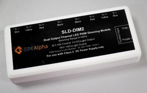 SLD Smart-DIM Dual Channel LED Dimming Module (0/1-10V, PWM)